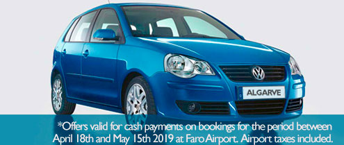 Special offer for Car hire in Portugal